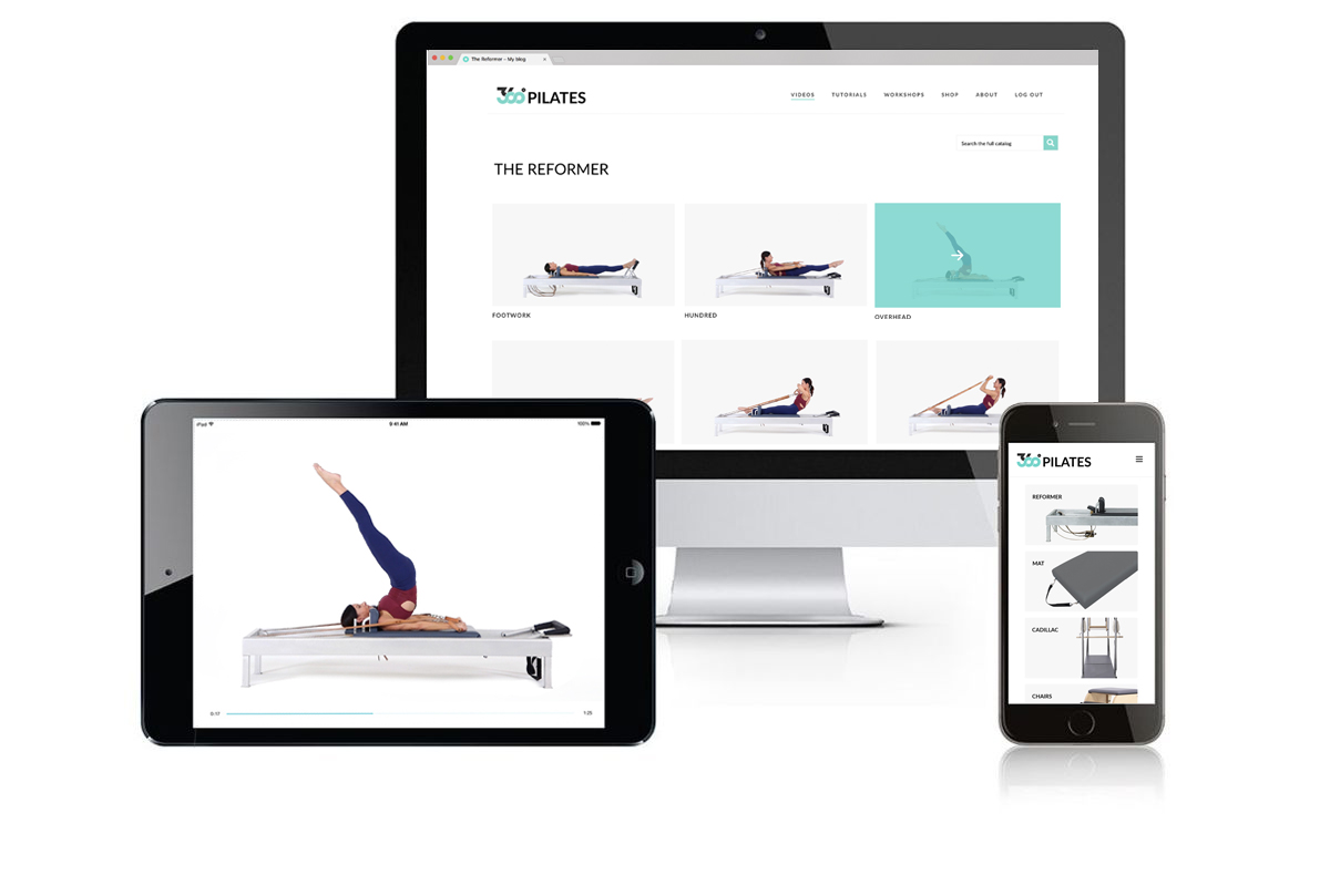 360º Pilates device screenshots